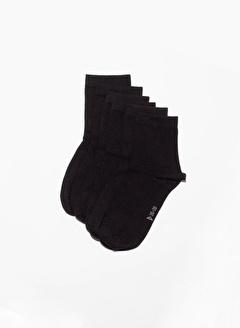 Katia Bony 6'li Paket Unisex Basıc Soket Çorap - Mıx